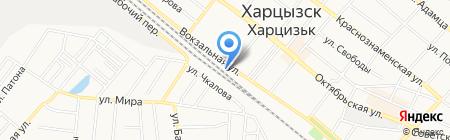 Домовой на карте Харцызска