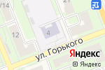 Схема проезда до компании Радость в Красноармейске
