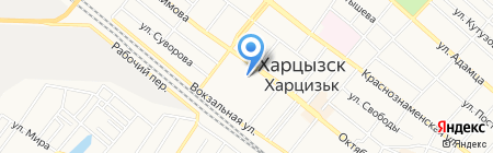 Харцызские ВЕСТИ на карте Харцызска