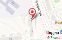 Схема проезда до компании Пирамидка в Свердловском