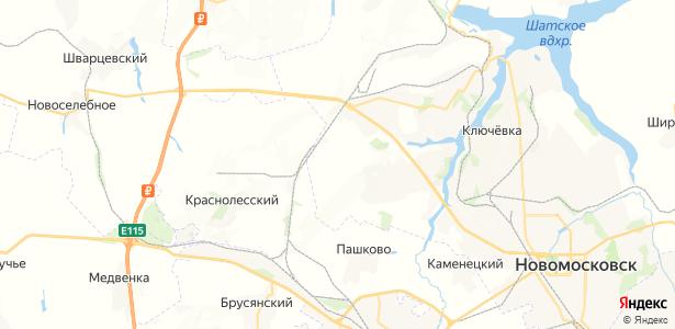 Маклец на карте