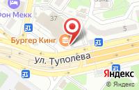 Схема проезда до компании Burger King в Жуковском