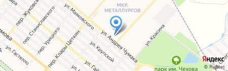 Банкомат КБ ПриватБанк ПАО на карте Харцызска