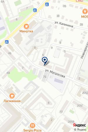 ГЕОДЕЗИЧЕСКАЯ КОМПАНИЯ ГЕОЦЕНТР-СЕРГИЕВ ПОСАД на карте Сергиева Посада