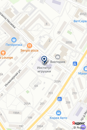 РОССИЙСКИЙ ХУДОЖЕСТВЕННО-ТЕХНИЧЕСКИЙ КОЛЛЕДЖ ИГРУШКИ на карте Сергиева Посада