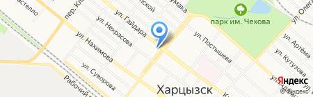 Виктория на карте Харцызска