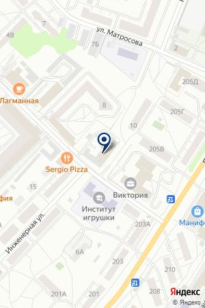 РАСЧЕТНАЯ ГРУППА на карте Сергиева Посада