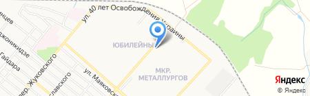 Нова Зустріч на карте Харцызска
