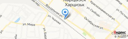 Корма для животных магазин на карте Харцызска