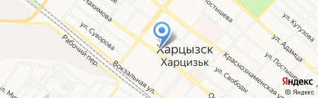 Пані на карте Харцызска
