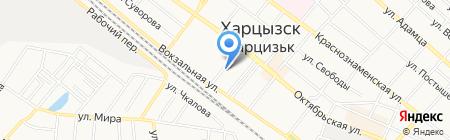 Премьер на карте Харцызска