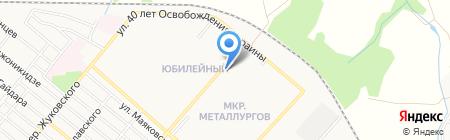 Корона+ на карте Харцызска