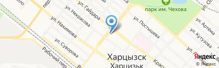 WDS на карте Харцызска