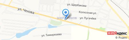 Магазин хозяйственных товаров на карте Харцызска