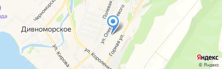 Детский сад №16 на карте Геленджика