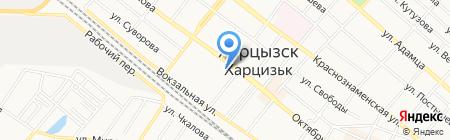 Харцызский учебно-воспитательный комплекс №1 на карте Харцызска