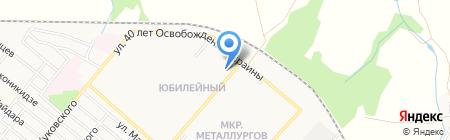 Ля Фуршет на карте Харцызска