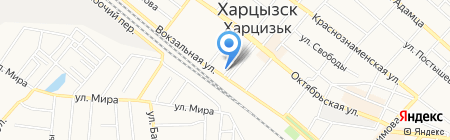 Зоомир на карте Харцызска