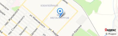 Харцызский учебно-воспитательный комплекс №25 на карте Харцызска