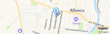 Росгосстрах на карте Абинска