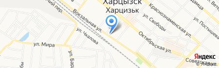 Полюс на карте Харцызска