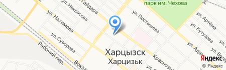 Детский сад №7 на карте Харцызска