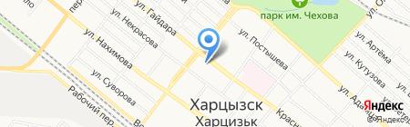Зия на карте Харцызска