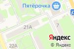 Схема проезда до компании Боевое братство в Красноармейске