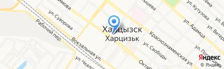 Фантазия на карте Харцызска