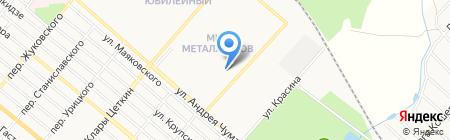 Любимчик на карте Харцызска