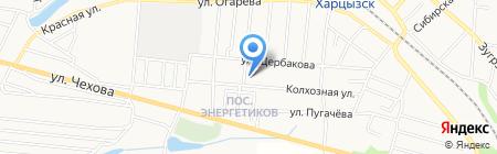 Марина на карте Харцызска