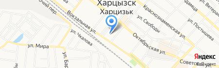 Статус на карте Харцызска