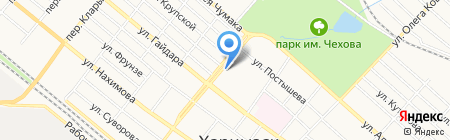 Продукты магазин на карте Харцызска