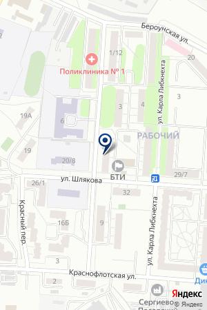 ДУ № 2 ЖКХ СЕКАР на карте Сергиева Посада