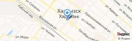 СБЕРБАНК РОССИИ на карте Харцызска