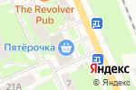Схема проезда до компании Монетка в Красноармейске