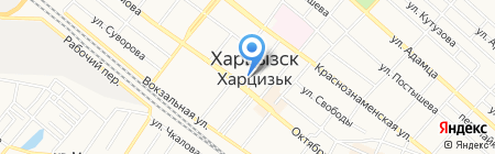 Ателье по пошиву и ремонту одежды на карте Харцызска