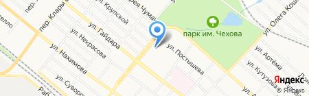 Зупинка на карте Харцызска