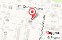 Схема проезда до компании Центр диагностики и консультирования в Узловой