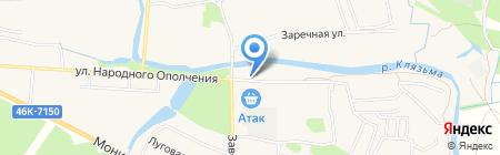 Магазин бытовой химии на карте Аничкова