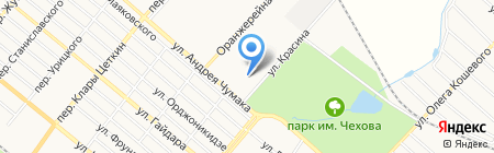 Саун-клуб на карте Харцызска