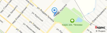 Евромойка на карте Харцызска