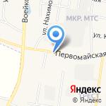 Первомайский на карте Узловой