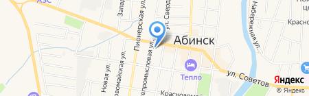 Согласие на карте Абинска