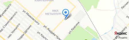 Шина на карте Харцызска
