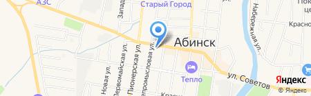 Лимпопо на карте Абинска