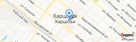 Харцызское городское культурно-экологическое досуговое объединение на карте Харцызска