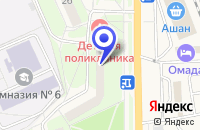 Схема проезда до компании ПЕДИАТРИЧЕСКОЕ ОТДЕЛЕНИЕ МЕДСАНЧАСТЬ № 154 в Красноармейске