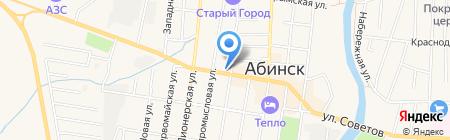 Satin на карте Абинска