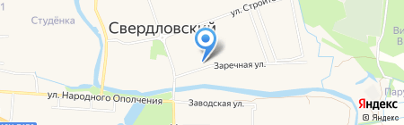 Лукино-Варино на карте Аничкова